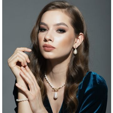 Colier perle baroque Sandra