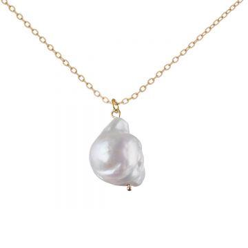 Colier perle baroque Betty