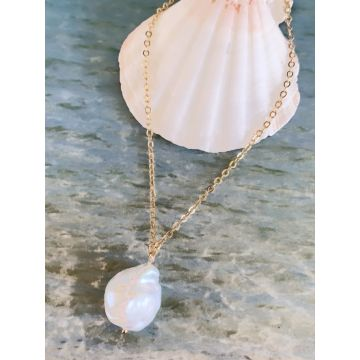 Colier perle baroque Betty