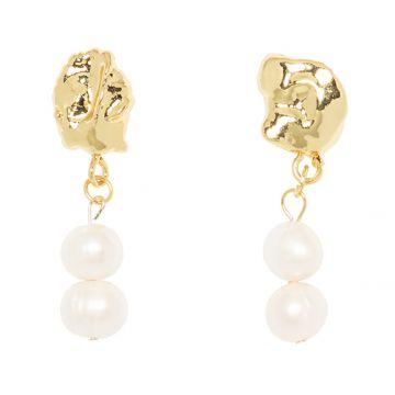 Cercei Kaya perle naturale
